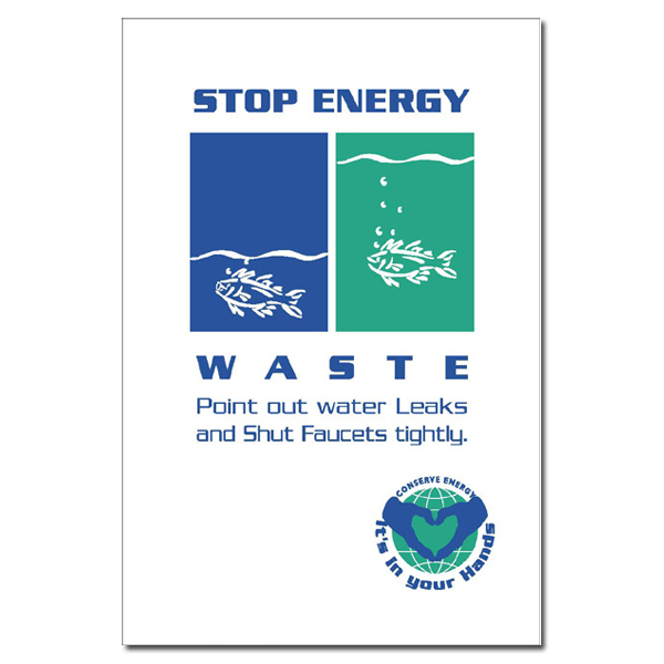 Water Conservation And Pollution Awareness Posters