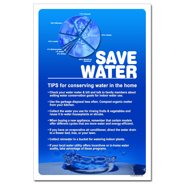 Save Water Tips For Conserving Water In The