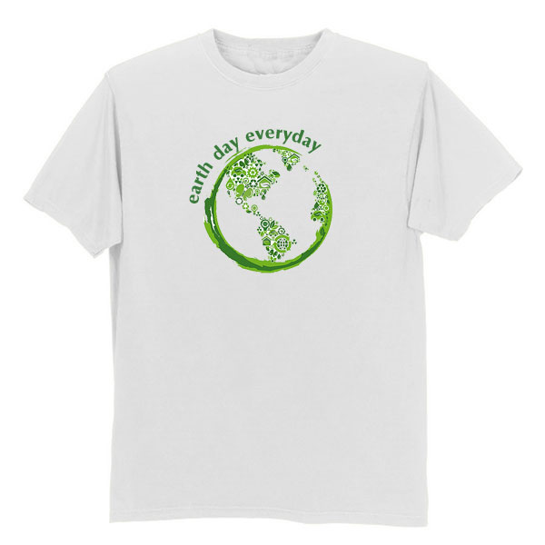 1a0007c6c Earth day t shirts and apparel. Promotional product that has earth ...