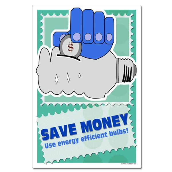 AI-ep313 - Save money. Use energy efficient bulbs. Energy ...