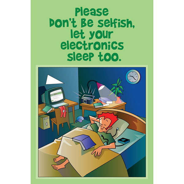 Energy Conservation Posters - CafePress