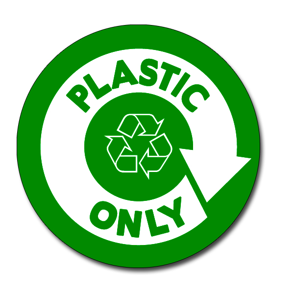 Ai rdbin037 03 recycling 5 vinyl circle decal recycling stickers