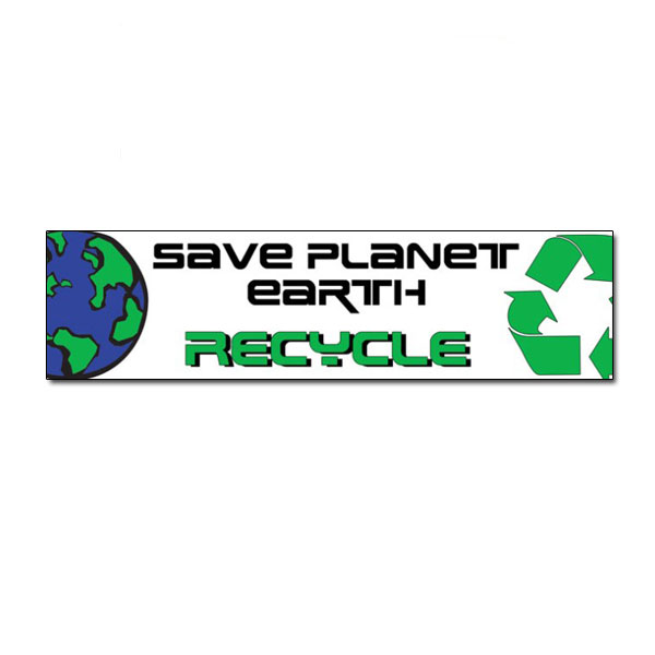 Rd119 recycling decal recycling stickers butt cut recycling labels vinyl recycling