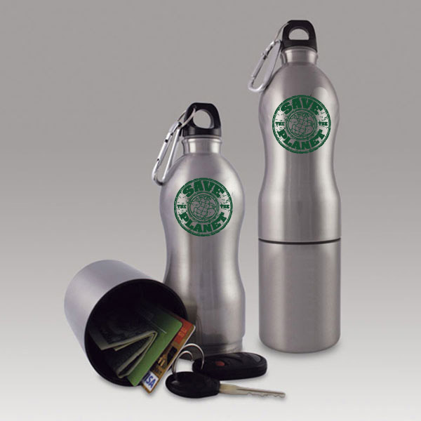 AI-rhmug031-2 Reusable Sports Bottle with Storage Recycling Incentive Recycling Promotional & AI-rhmug031-2 Reusable Sports Bottle with Storage