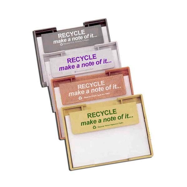 rh022 recycling handout memo tray recycling incentive recycling promotional ideas recycling promo
