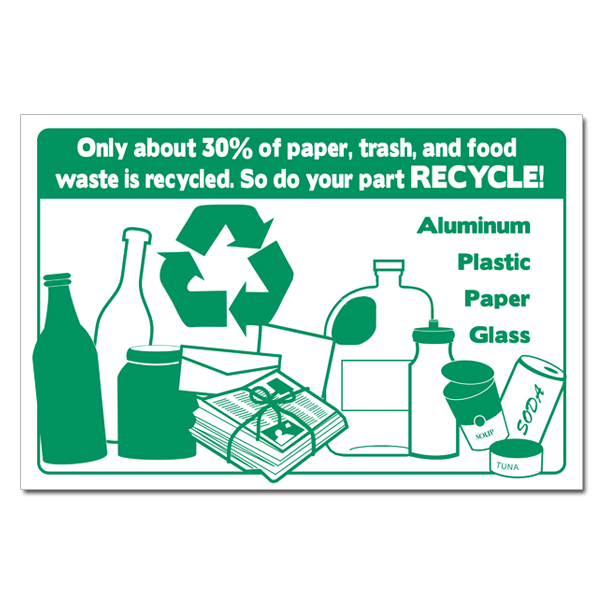AI-rp351 - Only about 30% of paper trash and food waste is ...