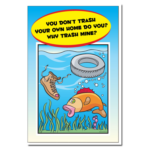Ai Wp443 Water Pollution Poster Save Water Turn Off