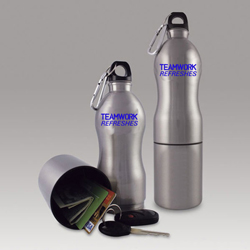 AI-12bot Reusable Sports Bottle with Storage
