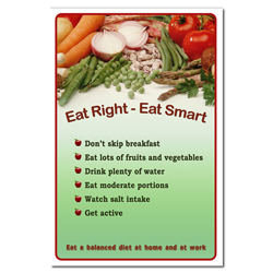 AI-3p100- EAT RIGHT EAT SMART
