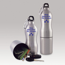 AI-5bot Reusable Sports Bottle with Storage