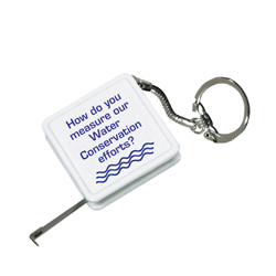 AI-8TPM- Water Measuring tape-key chain