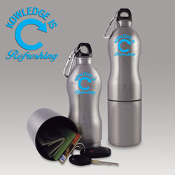 AI-9bot Reusable Sports Bottle with Storage