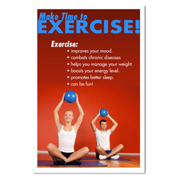 AI-hp100-Make time to Exercise Poster