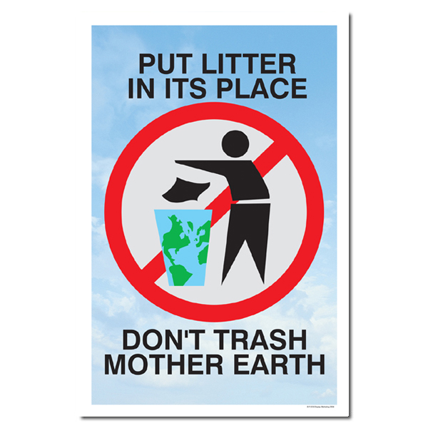 Ai Rp221 Put Litter In It S Place Don T Trash Mother