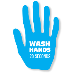 003-VPHD - Wash Hands Decal