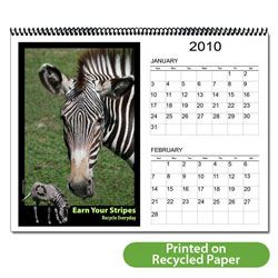 "AI-AC-2 Animal 12 Month 6-page Calendar - 11"" x 8-1/2"""