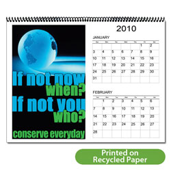 "AI-EC-1 Energy 12 Month 6-page Calendar - 11"" x 8-1/2"""