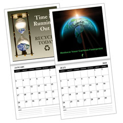 AI-EC Environmental Message 12 Month 12-page Calendar