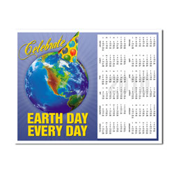 AI-EDC-2 EARTH DAY 1 page 2012 Calendar - custom promotional items, promotional product