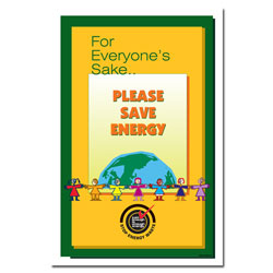 AI-EP101-2 - Energy Conservation Poster