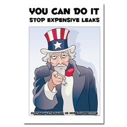 AI-EP451 - You Can Do it- Stop Leaks - Leak Poster