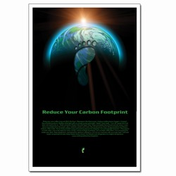 PRG001-01 - Reduce Your Carbon Footprint Poster