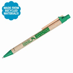 AI-PRG001-12 - Reduce Your Carbon Footprint Pen, Recycling Incentive, Recycling Promotional Ideas, Recycling Promo Gifts, Recycling Gifts for Tradeshows, recycling ad specialties