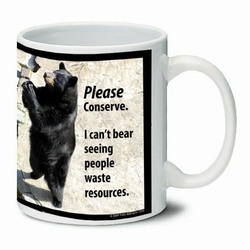 AI-PRG0011-BE5 Bear Ceramic Mug 11oz.