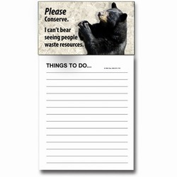 AI-PRG0011-BE6 - Bear Magnet Notepad