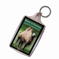 AI-PRG0011-CW2 Camel Water Conservation Keychain, Water Incentive, Water Promotional Ideas, WAter Conservation Promo Gifts, water Gifts for Tradeshows, water ad specialties
