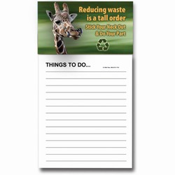 AI-PRG0011-GR6 - Giraffe Mousepad, Recycling Incentive, Recycling Promotional Ideas, Recycling Promo Gifts, Recycling Gifts for Tradeshows, recycling ad specialties