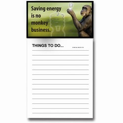AI-PRG0011-MRE6 - Monkey Magnet Notepad