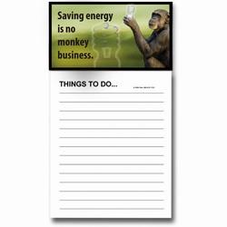 AI-PRG0011-MRE6 - Monkey Magnet Notepad