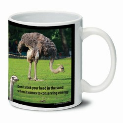 AI-PRG0011-OE5 Ostrich Ceramic Mug 11oz.