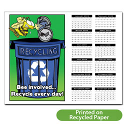 "AI-RC-2 Recycling 1 page 2011 Calendar - 11"" x 8-1/2"""