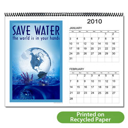 AI-WC-1 Water Conservation 12 Month Calendar