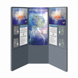 cons4 - FLEXi Modular Conservation Display, Energy Conservation Display, Tradeshows for Energy, Trade shows for conservation, recycling information display, recycling summit, energy conservation summit, energy trade show