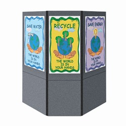 cons5 - FLEXi Modular Conservation Display, Energy Conservation Display, Tradeshows for Energy, Trade shows for conservation, recycling information display, recycling summit, energy conservation summit, energy trade show