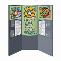 cons7 - FLEXi Modular Conservation Display, Energy Conservation Display, Tradeshows for Energy, Trade shows for conservation, recycling information display, recycling summit, energy conservation summit, energy trade show