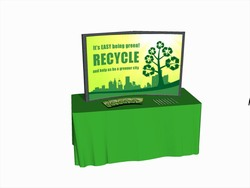 Recycling Displays
