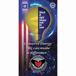 eban101 - Energy Conservation Banner, Vinyl Energy Conservation Banners, Vinyl Banners for Energy Savings, Energy Saving Banner, Energy Saving Signs