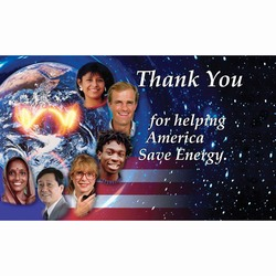 eban200 - Energy Conservation Banner, Vinyl Energy Conservation Banners, Vinyl Banners for Energy Savings, Energy Saving Banner, Energy Saving Signs