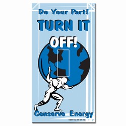 ed199 - Energy Conservation Decals
