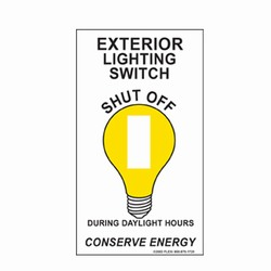 ed203-07 - Energy Conservation Decals