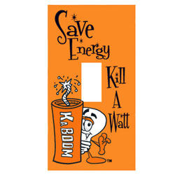 ed203-16 Energy Conservation Decals