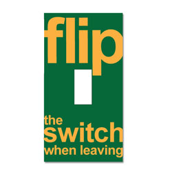 AI-edltsw203-22 - &quot;Flip the Switch&quot; Decal