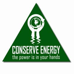 ed105 - Energy Conservation Decals, Turn Me Off Decals&#8218; 1 Square Decals,Energy Conservation Stickers, Energy Stickers, Energy Savings Stickers, Butt-cut Energy Labels, Vinyl Energy Decals, Vinyl Energy Labels, Vinyl Energy Stickers