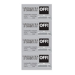 AI-edoth226-2   Turn It Off Computer Energy Conservation Decal