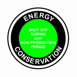 "efd102 Energy Decal 3"" Round"