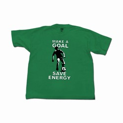 Energy conservation t-shirts